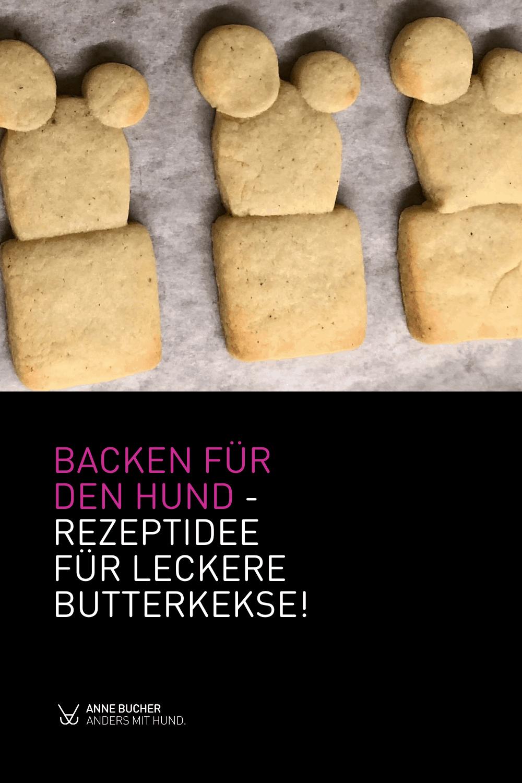 Rezeptidee für deinen Hund - Butterkekse