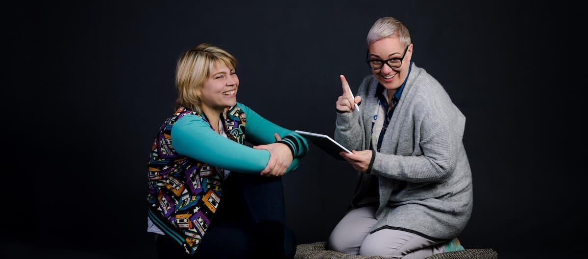 Der Podcast von Anne Bucher und Anja Landler